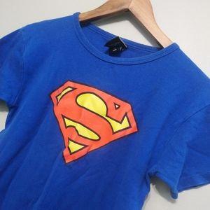 3/22$ DC COMICS Superman shirt size S